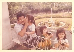 Nicki's husband and their three girls (photo courtesy of Nicki Chen)